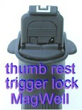 MAGLOCR  PUSH BUTTON TRIGGER LOCK